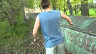 обучалка бег по стене(wallrun)
