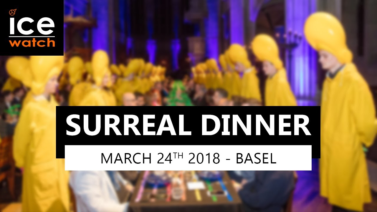 Download Ice-Watch Surreal Dinner by Charles Kaisin / Basel