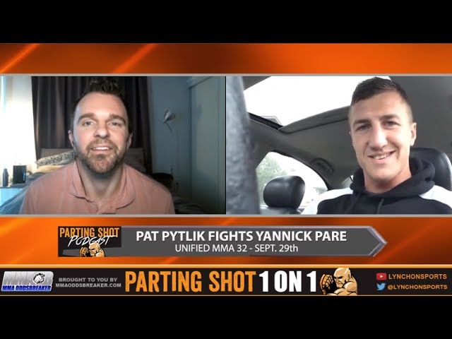 "Unified MMA 32 Pat Pytlik on Yannick Pare ""We're going to beat the hell out of each other"""