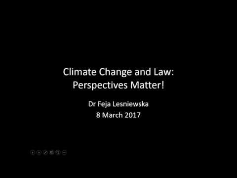 Climate Change and Law: Perspectives Matter!, CISD, SOAS University of London