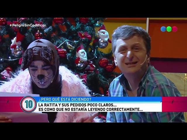 La ratita escribió su carta para Papá Noel - Peligro Sin Codificar 2018