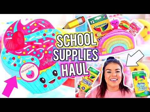 BACK TO SCHOOL SUPPLIES HAUL 2017!