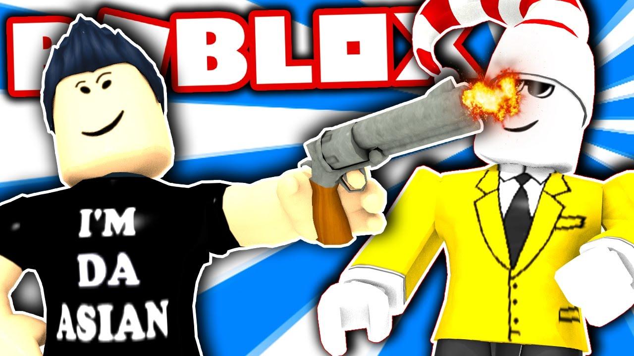 Fake Sheriff Trolling Roblox Murder Mystery 2 - best fake gun troll roblox murder mystery 2