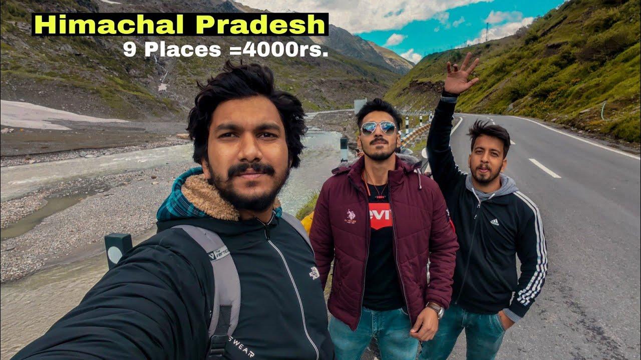 8 Himachal Pradesh Tourist Places You Can Visit Under 4000Rs. / Himachl Wala Vlog Dekhlo lo