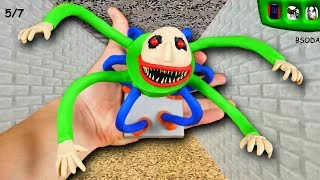 MAKING MONSTER BALDI in POLYMER CLAY  Baldis Basics In Education And Learning