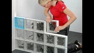 Оригинальное разделение на зоны. Стены из стеклоблоков(Стены из стеклоблоков -- хорошее решение для помещений,в которые попадает мало света,прихожей,ванной комнат..., 2011-11-10T11:46:34.000Z)