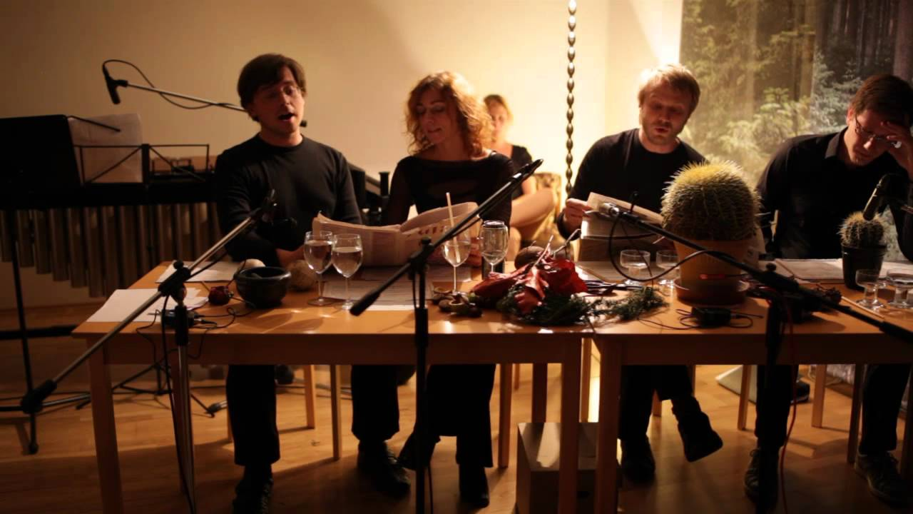 Charming John Cage   Living Room Music Performed By Cluster Ensemble   Part 2  (Story)   YouTube Part 25