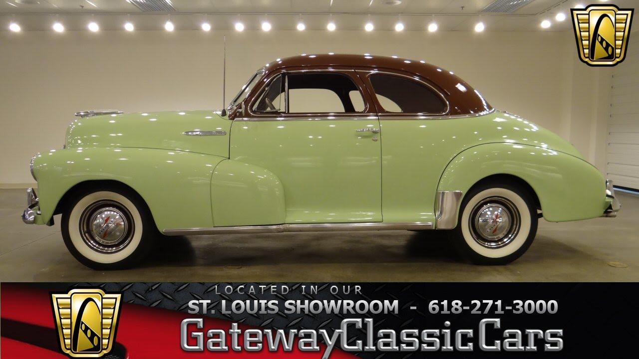 Chevrolet Fleetmaster Gateway Classic Cars St Louis
