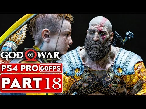 GOD OF WAR 4 Gameplay Walkthrough Part 18 [1080p HD 60FPS PS4 PRO] - No Commentary