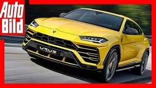 Lamborghini Urus (2018) - Erste Sitzprobe Details/Review/Premiere