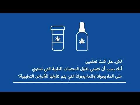 Pregnancy & Breastfeeding - Medical Marijuana (Arabic)