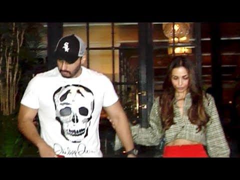 Malaika Arora Late Night Dinner Date With Arjun Kapoor