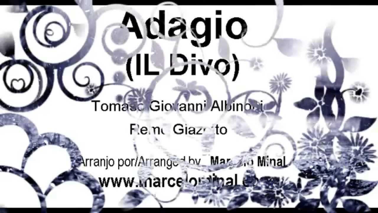 Albinoni adagio il divo for tenor and orchestra youtube - Youtube il divo adagio ...