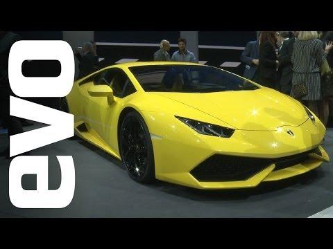 Lamborghini Huracan at Geneva 2014   evo MOTOR SHOWS