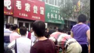 Soldiers in Urumqi, Xinjiang on July 7th 2009 1234.mp4