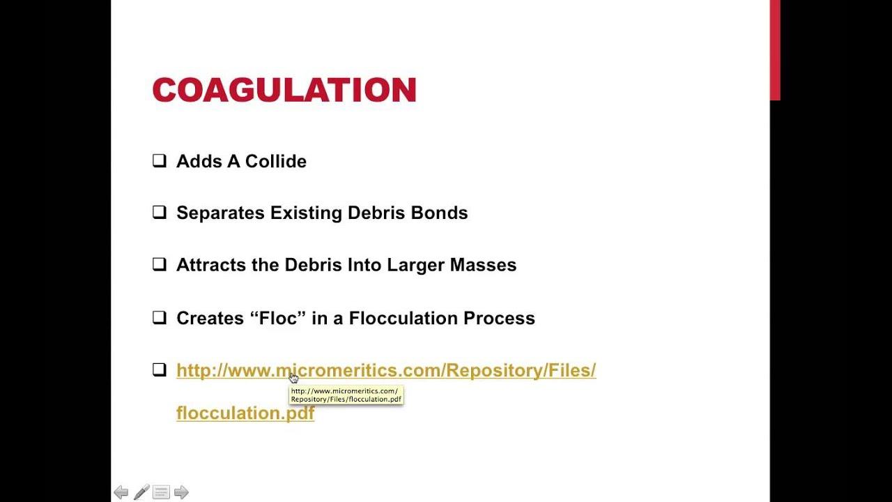 Treatment pdf water process