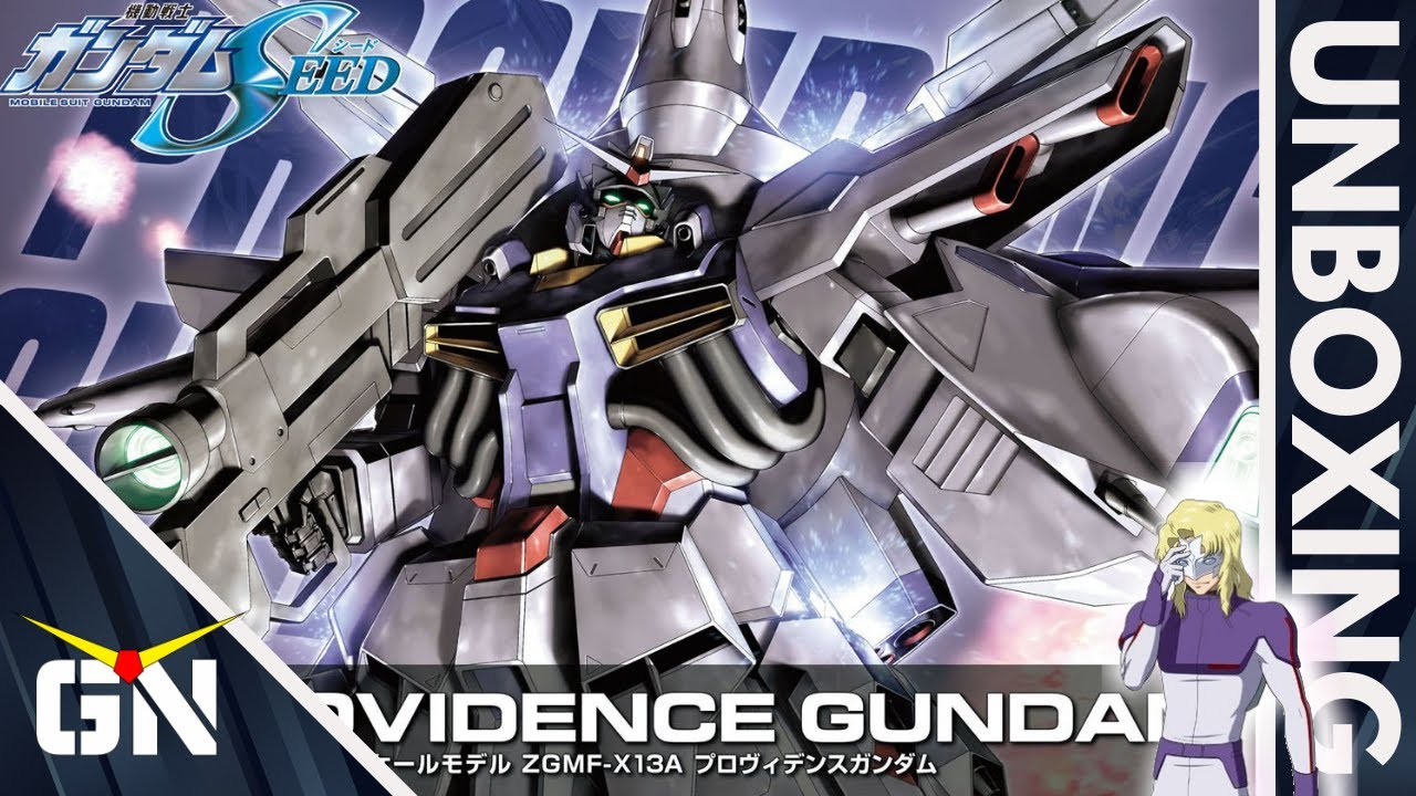 HG 1/144 Providence Gundam   UNBOXING