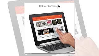 ASUS Chromebook Flip C101PA-DS04 10.1inch Rockchip RK3399 Quad-Core Processor 2.0GHz
