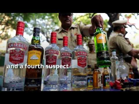 Low Quality Booze in High Quality Bottles-Hyderabad, India