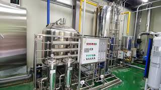 순수장치 세니터리 식품 GMP HACCP 한약재생산수 …