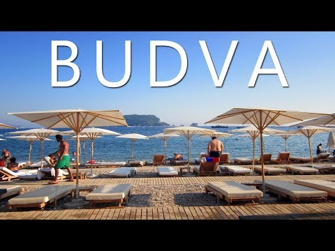 Budva Montenegro 2017 - Budva Old Town and beaches
