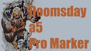 Doomsday a5 Pro Marker speed drawing