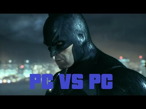 Batman Arkham Knight PC No Patch vs With Patch