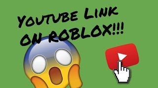 How to put your YOUTUBE LINK in your ROBLOX PROFILE!!!