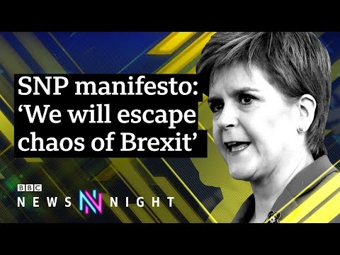 UK election: SNP pledge to 'lock Conservatives out of power' - BBC Newsnight