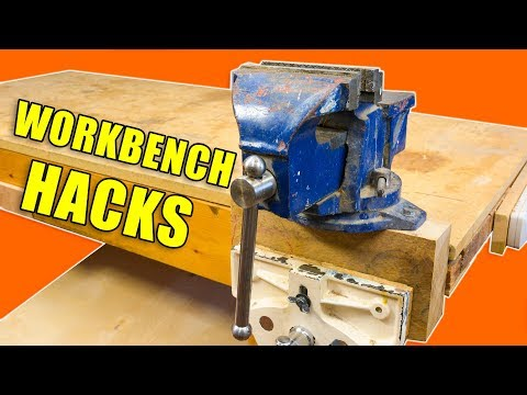 5 DIY Workbench Hacks / Woodworking Tips and Tricks