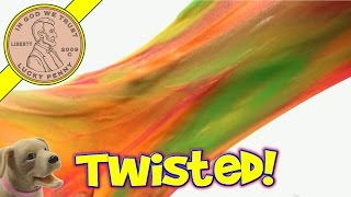 Twisted GAK! Yakkity Yellow, Goo Green, Outrageous Orange & Tickled Pink!