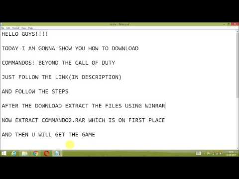 How to download Commandos 2 Beyond the call of duty