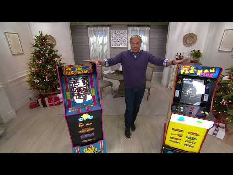 Arcade1Up Pac-Man or Ms. Pac-Man Full-Size Retro Arcade Machine on QVC from QVCtv