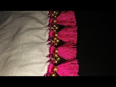 Avani very simple saree kuchu design