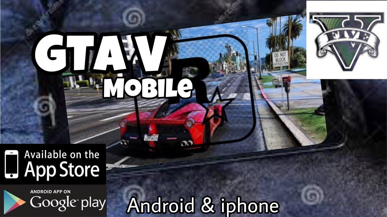 GTA V MOBILE | Hướng dẩn tải Gta 5 trên điện thoại | Android & IOS |download instructions GTA V 100%