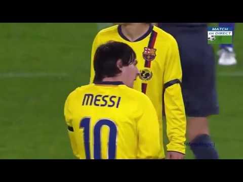 Lionel Messi | Top 10 Des plus beau buts REFUSÉ ⭕