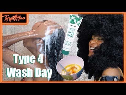 WASH DAY ROUTINE FOR NATURAL HAIR