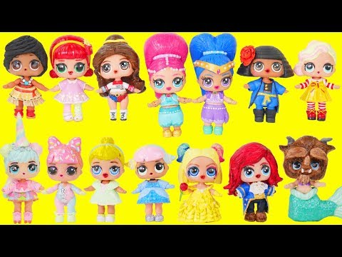 LOL Surprise Dolls Wrong Heads + Custom Bedroom Store | Toy Egg Videos