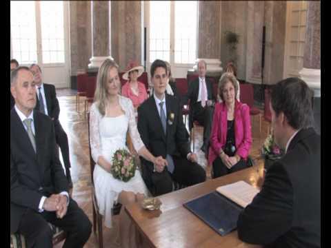 Hochzeitsfilm Standesamtliche Trauung Wiesbaden Youtube