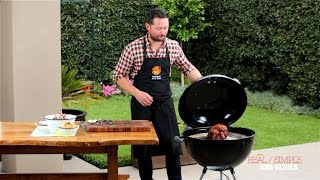 The Real  Simple BBQ Series  Episode #3: Roast Pork