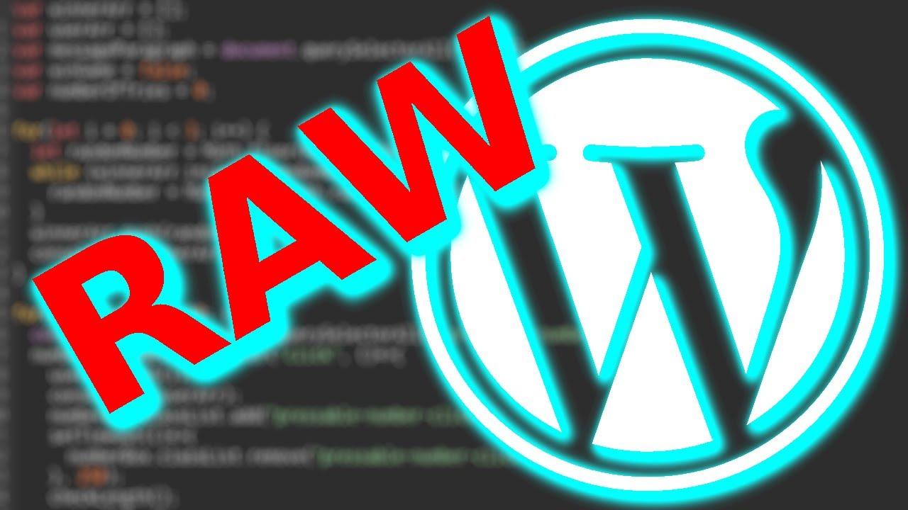 Raw Website Design: WordPress Development in Local by Flywheel