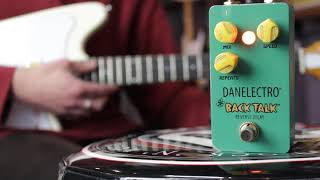 Danelectro Back Talk Reverse Delay Pedal | Music Junction