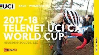 2017-18 Telenet UCI Cyclo-cross World Cup – Heusden-Zolder (BEL) - Women Elite