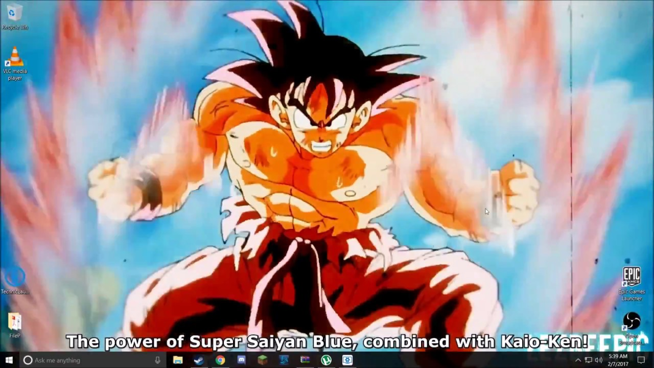 Epic Dbz Wallpapers High Resolution: Epic Dbz Wallpapers