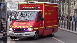 BMPM Ambulance Réanimation // Emergency ALS Ambulance Marseille