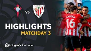 Resumen de RC Celta vs Athletic Club (0-1)