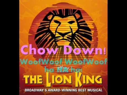 Chow Down Instrumental [With Lyrics]