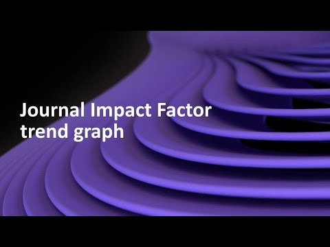 Journal Impact Factor Trend Graph