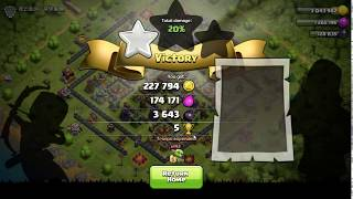 Get One Star with Goblin Attack in Clash of Clans | Game Tricks