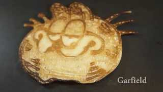 Pancake Art - Cartoons
